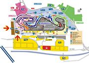 Entrada F1 Montmelo Parking F
