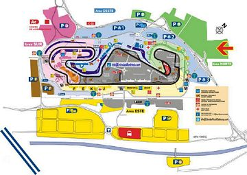 Entrada F1 Montmelo Parking Camping-Car