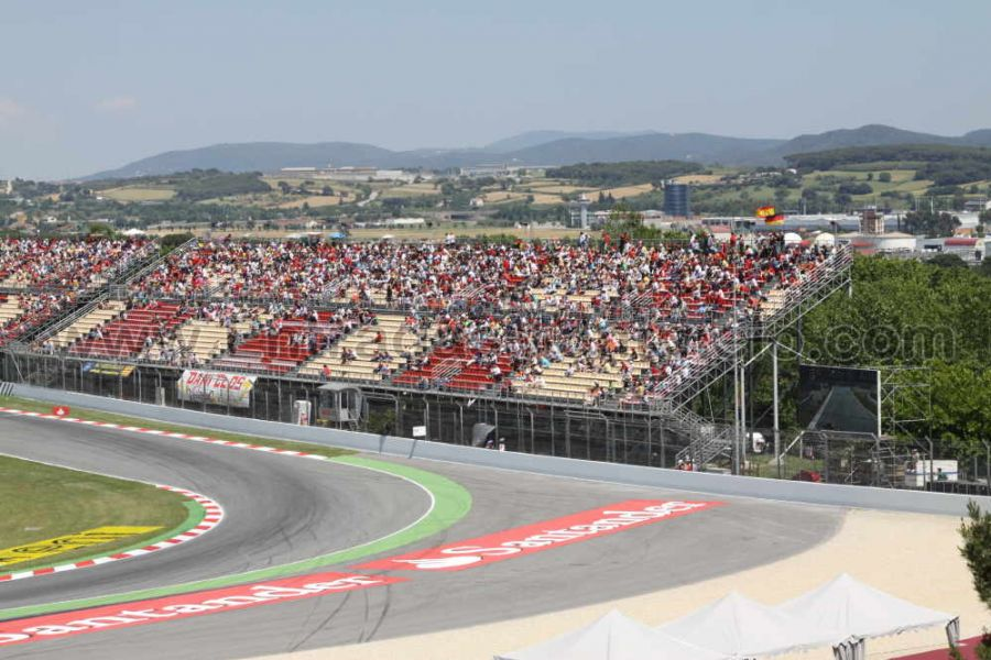 Circuito Montmelo : Tribuna f gp barcelona circuit de catalunya